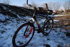 Andare in bici con la neve: consigli #bici #neve