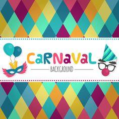 Cartel de Carnavales.  Fondo para carnavales. Carnival Poster