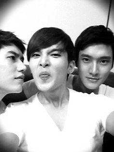 Kyuhyun, Ryeowook, and Siwon #superjunior