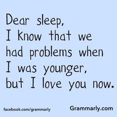 Did you enjoy sleeping in?