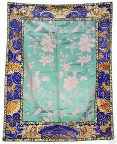 Exquisite Antique Chinese Embroidered Silk Panel