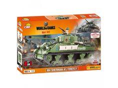 Stavebnica tanku M4A4 Sherman Firefly edícia World of Tanks