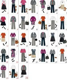 31 days of outfits