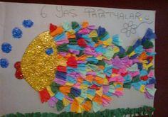Balık sanat etkinlikleri grup çalışması