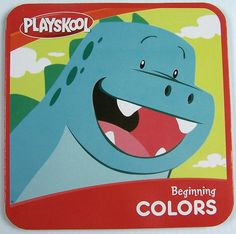 Playskool Beginning Colors Childrens Board Book Learning Education New