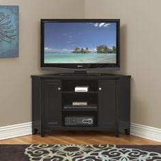 Hudson Street TV Console Corner Unit by Martin Home Furnishings