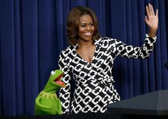 Pin for Later: 23 Things You Never Knew About Designer Diane von Furstenberg Along With Michelle Obama