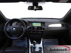 BMW X3 XRDIVE 20D MSPORT AUTOMATICA MOD RESTLYING 190CV Steptronic + Pad + Navigatore + Pelle + Sedili sportivi + Fari Xeno + Line m-sport + Assetto sportivo + Touchpad + Comfort access system + Cerchi in lega 20 + Tendine + Clima digitale bi-zona + Park distance control ant/post + Fendinebbia + Garanzia Bmw Best4 + Unico prop + del 2014