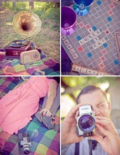 Vintage Engagement Pics...I can't even begin to describe how much I love this