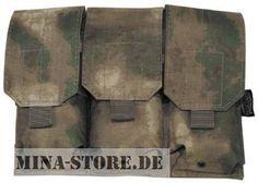 """mina-store.de - Magazintasche dreifach """"MOLLE"""" Modular System HDT-camo FG"""