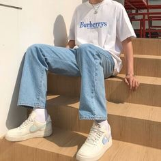 Indie Outfits, Retro Outfits, Vintage Outfits, Grunge Outfits, Urban Outfits, Fashion Vintage, Stylish Mens Outfits, Cute Casual Outfits, Summer Outfits Men