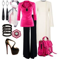 Office wear- I love this entire ensemble. The shoes are beautiful- maybe a teensy high for the office but love it