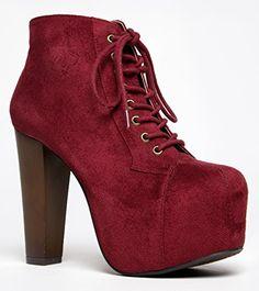 Speed Limit 98 ROSA Designer Inspired Lita Style Chunky High Heel Lace Up Ankle Boot Bootie,5.5 B(M) US,Dk. Burgundy ISU-rosa-s Speed Limit 98 http://www.amazon.com/dp/B00LMQBRB2/ref=cm_sw_r_pi_dp_YHheub19QA7KP
