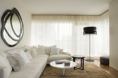 Flexform sectional available at MOOD showroom, Warsaw. #mood #sofa #whitesofa #sectional #flexform