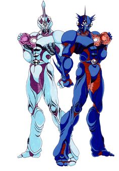 Guyver1_and_Guyver3_by_guyver1.jpg (900×1296)