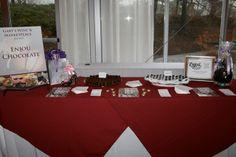 "Enjou chocolat at the ""Taste of Madison"" event. April 7, 2014"