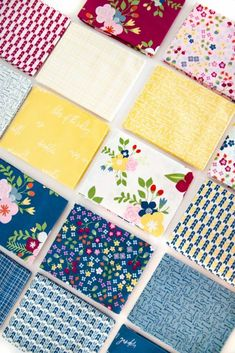 Bloom & Grow by Simple Simon & Co. for Riley Blake Designs Riley Blake, Types Of Flowers, Lily Of The Valley, Fabric Panels, Pretty In Pink, Quilting, Fabrics, Bloom, Flower Types