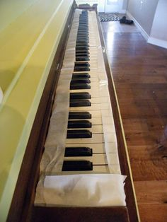 A great tutorial with instructions and tips on how to paint a piano. Saved by Suzy: The Painted Piano #DIY #project