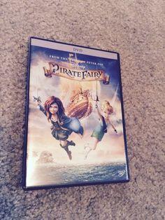 PIRATE FAIRY DISNEY DVD