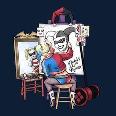 How does a Wild Card see herself? #HarleyQuinn #DcVillian #DcComics #DC #Gotham #GothamGirls