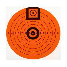 """6"""" Match Target,10,Per Pack"""