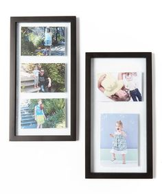 Love this Canopy Float Panel Frame - Set of Two on #zulily! #zulilyfinds