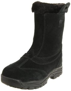 """Sorel Women's Waterfall Slip 2 Boot                                 Leather                    Rubber sole                    Shaft measures approximately 8.5"""" from arch                    Heel measures approximately 1.5""""                    Boot opening measures approximately 10"""" around                    The harsh winter chill won't keep you down in this durable boot                    Waterproof suede leather upper…"""