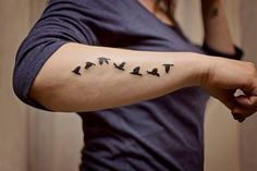 Bird Tattoos For Men Ideas on Arm