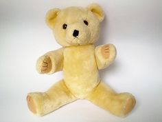 Vintage Stuffed Teddy Bear - 60s