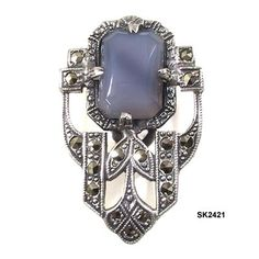 Fashionable Shenanigans: 1920's Art Deco Jewelry.
