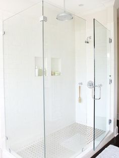 Bathroom Subway Tile Ideas - like the shower, not the floor