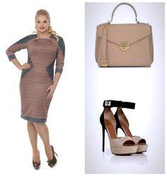Роскошный #образ для стильных #леди. #Альпама - недорогая #одежда больших размеров