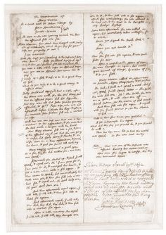 Transcript of Mary Warren's examination on April 19, 1692. #salemwitchtrials