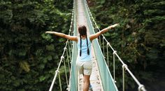 Breathe taking views from this high up canopy tree walk in Costa Rica! Enjoy life!   http://www.nationalgeographicexpeditions.com/expeditions/costa-rica-family-tour/detail