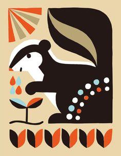 リス - Buy this stock illustration and explore similar illustrations at Adobe Stock Animal Graphic, Graphic Art, Retro Crafts, Animal Doodles, Naive Art, Geometric Art, Painting Inspiration, Pet Birds, Graphic Illustration