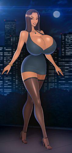 Natasha by akiranime on DeviantArt 3d Fantasy, Fantasy Girl, Heaviest Woman, Ebony Models, Art Jokes, Western Comics, 3d Girl, Girl Sketch, Digital Art Girl