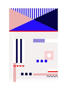 Aeeflie X Studio Rug Collaboration with Alex Proba for Spring 2015 #pattern
