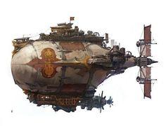 Nimolish Pirate Barge