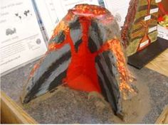 Geography Fun ideas for learning about Geography for kids. Packed with lots of information, geography model ideas, activities and geography worksheets to help you learn. Volcano Science Fair Project, School Science Projects, Projects For Kids, Project Ideas, Volcano For Kids, Making A Volcano, Valcano Project, Volcano Model, Volcano Activities