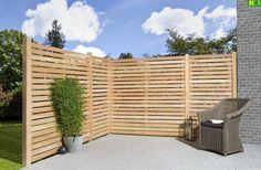 Drewniany płot deskowy 180x180