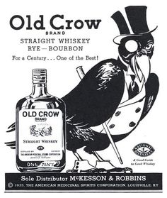 Old Crow Straight Whiskey