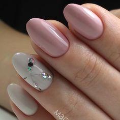 90 Unique and Beautiful Nail Art Designs Gem Nails, Diva Nails, Hair And Nails, Rhinestone Nails, Bling Nails, Beautiful Nail Designs, Beautiful Nail Art, Cute Nails, Pretty Nails