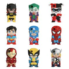 DC Comics & Marvel iPhone Chara-Covers, $28 available on Fab.