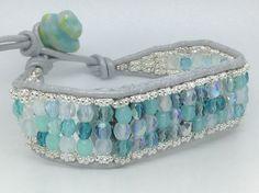 Fitbit Flex bracelet small Caribbean aqua blue by techGLAM