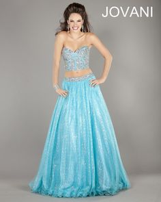 Jovani Spring 2013 Style 5336 in Turquoise