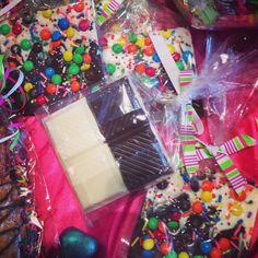 Candy bark! A sweet chocolate treat, yum!