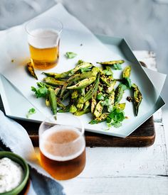 Spiced okra with yoghurt :: Gourmet Traveller Magazine Mobile