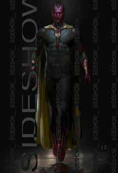 Image(s) of the day: 1st full look at Paul Bettany's Vision in Age of Ultron | Blastr