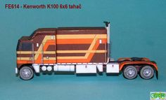 Kenwhort K 100 Paper Model Car, Paper Models, Plastic Model Kits, Plastic Models, Kit Cars, Trucks, Diy, Design, Paper Envelopes