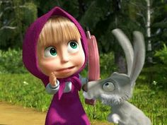 Masha and the Bear in Russian